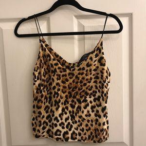 Cheetah tank top!